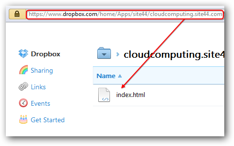Tools for Using Dropbox Cloud for Web Hosting Easily