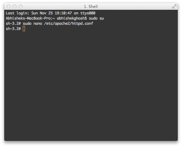 Install WordPress on Mac OS X With Command Line