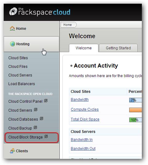 Cloud Block Storage