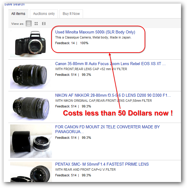 Convert Film Camera to Digital Camera