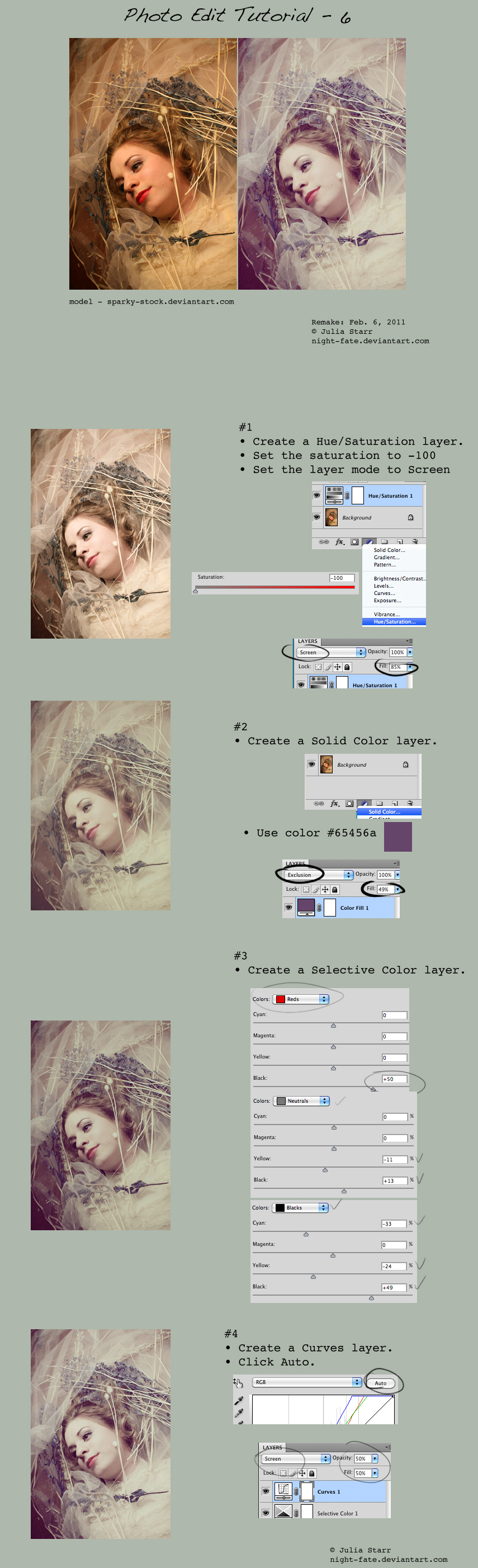 Post Processing in Digital Photography