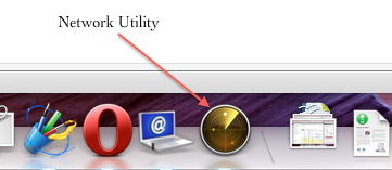 Network Utility in Mac For Pinging, WHOIS, DNS Lookup