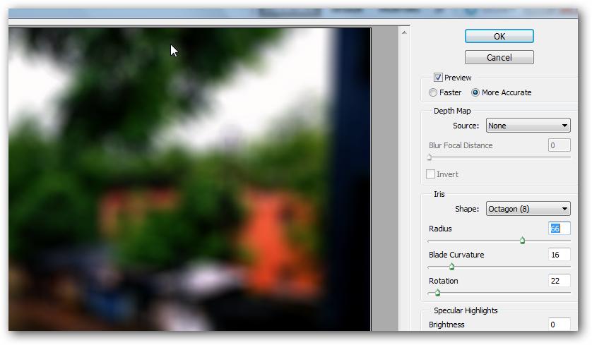 Photoshop Blur