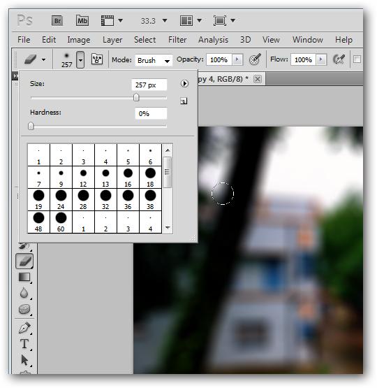 Photoshop Eraser