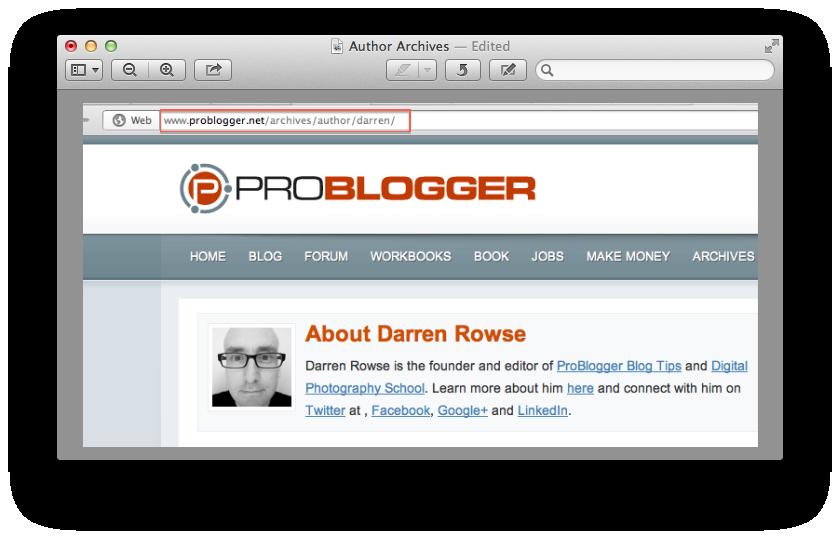 Authorbox or Author Info Box in WordPress