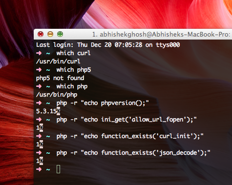 Facebook From Command Line Interface