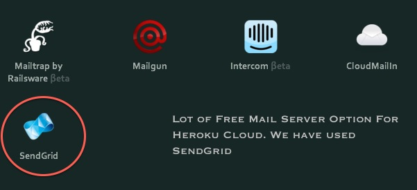 Free Own Domain Named Mail Server With Heroku Cloud