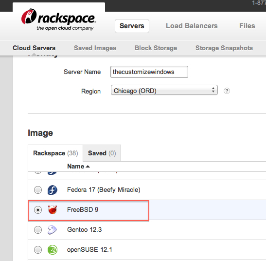 Installing WordPress on FreeBSD on Rackspace Cloud Server