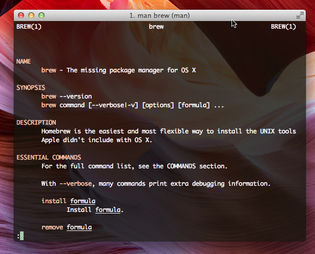 PostgreSQL on Mac OS X Easily