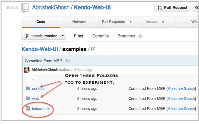 Create Cloud Files Hosted Excellent Mobile Website with Kendo UI