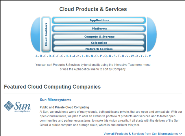 Sun and Cloud - The Story of Sun Cloud Computing