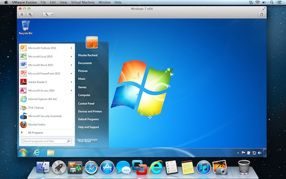 mac on windows machine