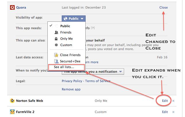 Limit Facebook Notifications