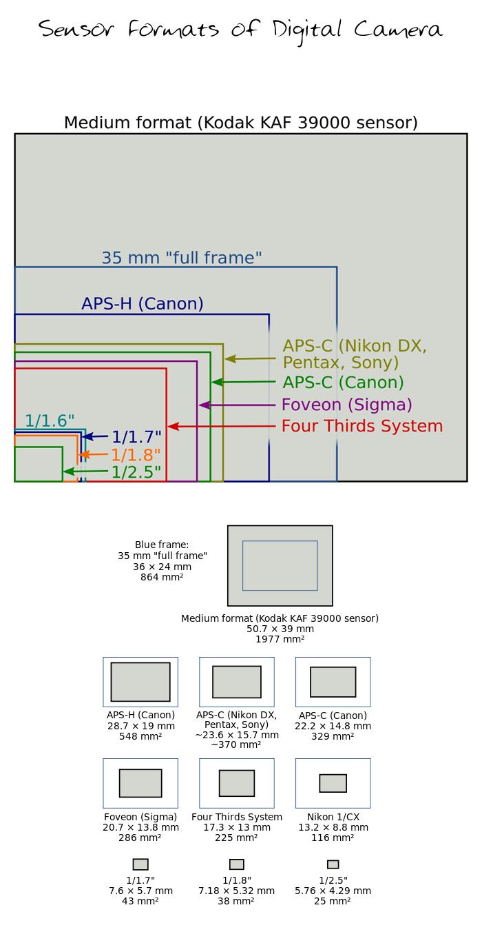Aps C Format Sensor