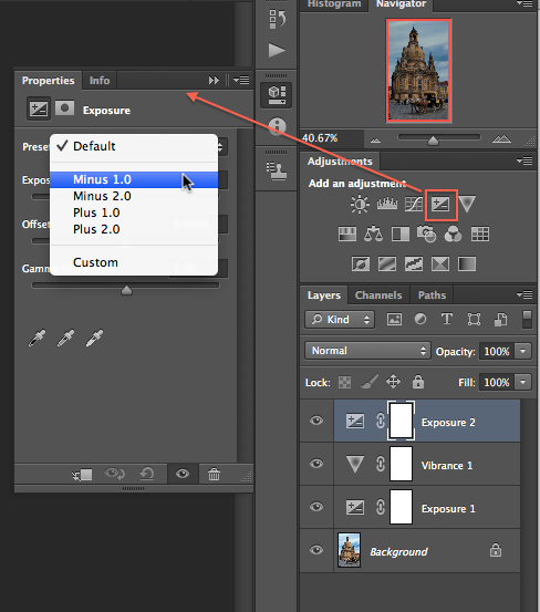 Creating HDR Photograph with Adobe Photoshop