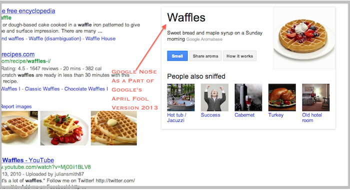 Google April Fools with a Bunch of Pranks
