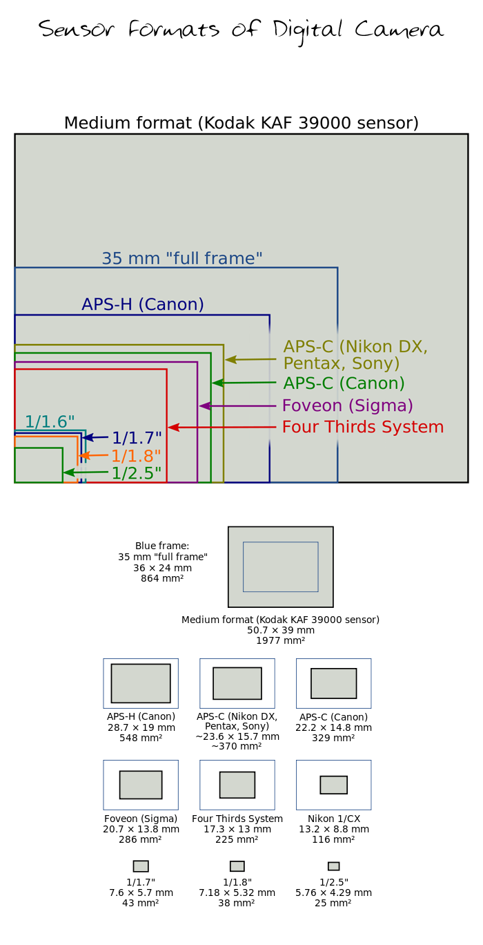 APS-C-Format-Sensor