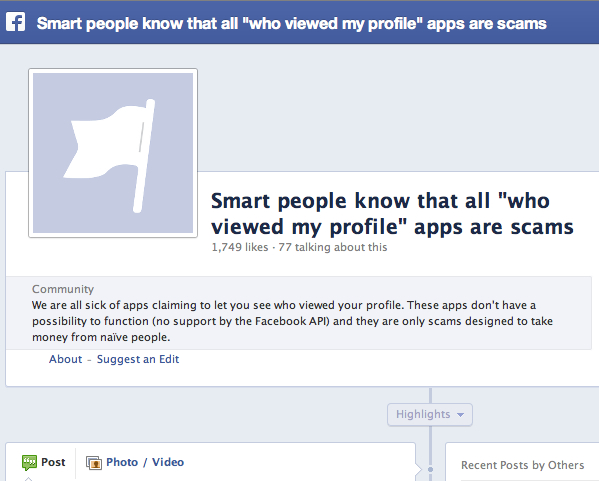 How those Facebook who viewed my profile Apps Works
