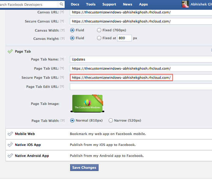 How to Use OpenShift PaaS as Facebook App