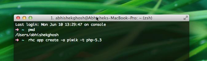 Install PiWik on OpenShift Free PaaS