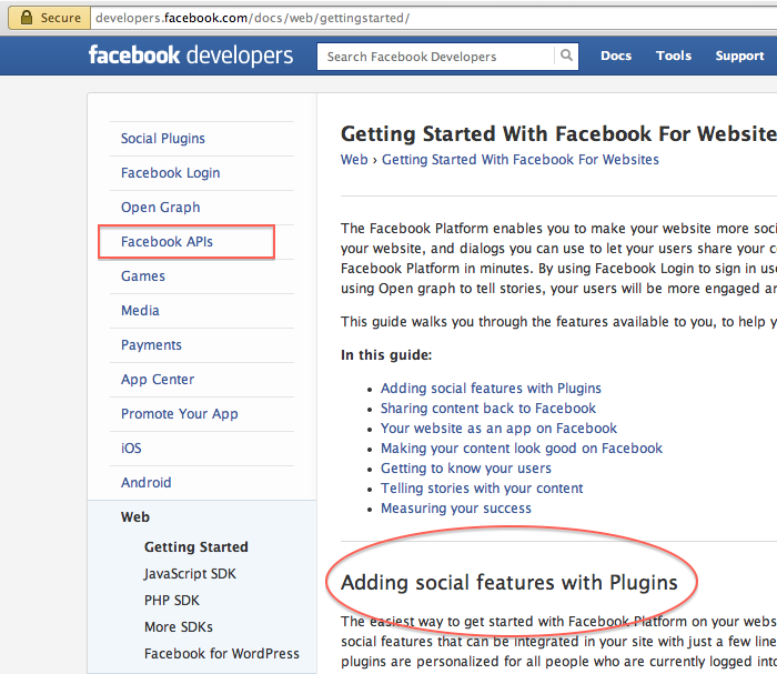 Object Meta Tags for Facebook Open Graph Protocol