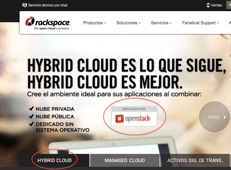 Rackspace Cloud Lands in Mexico