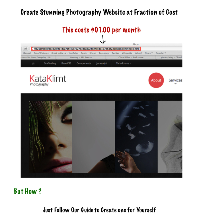 Create Stunning Photography Website at Fraction of Cost