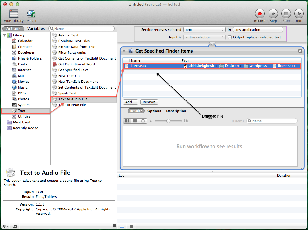 Automator Automation Recipes