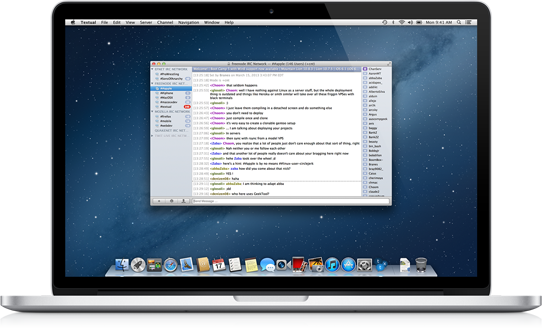 IRC Clients for OS X