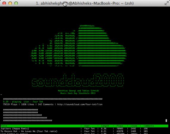 SoundCloud-From-Command-Line-Interface