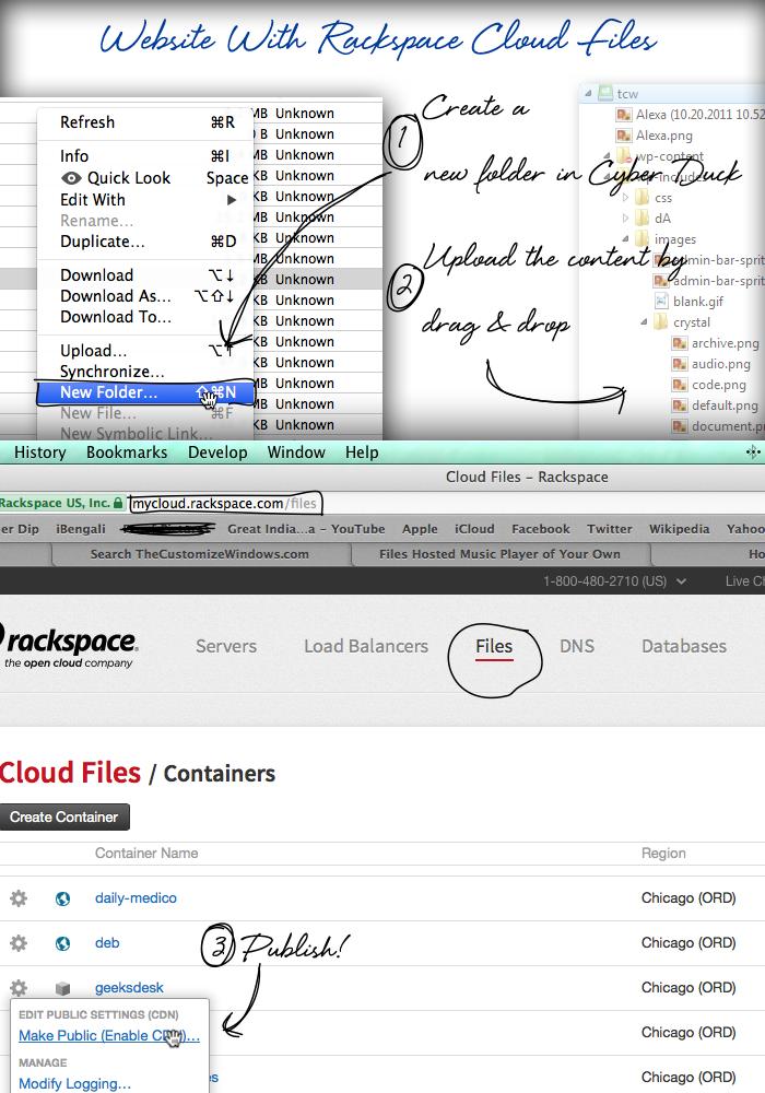 Website-With-Rackspace-Cloud-Files