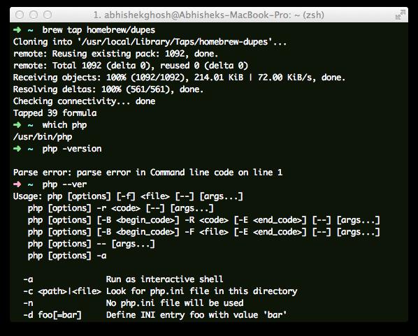 PHP Script To Install WordPress on Mac