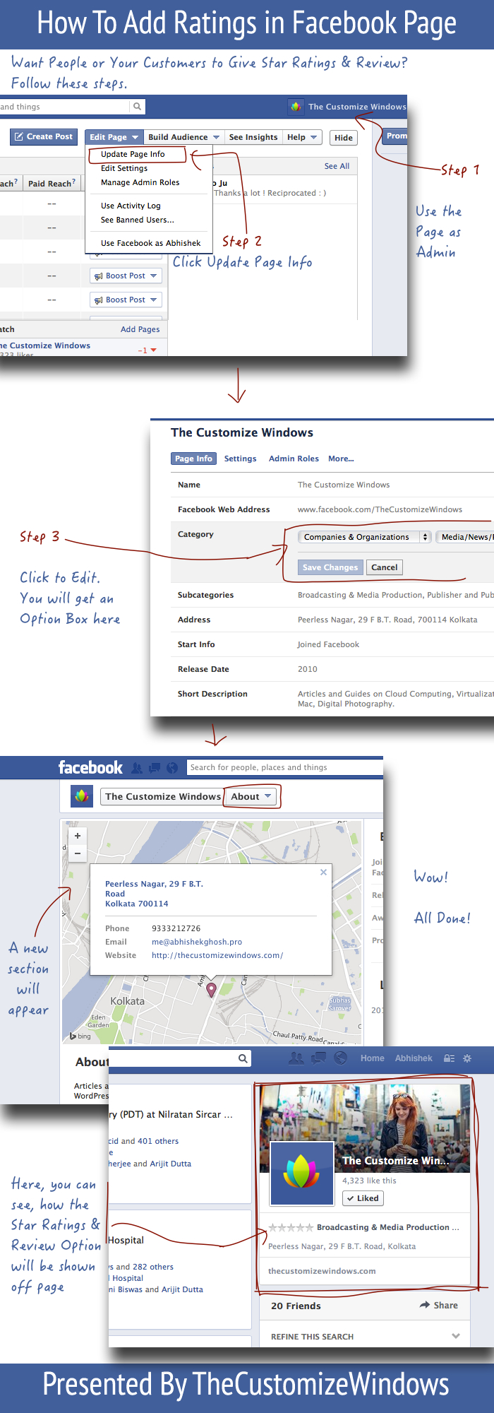 How To Add Ratings in Facebook Page