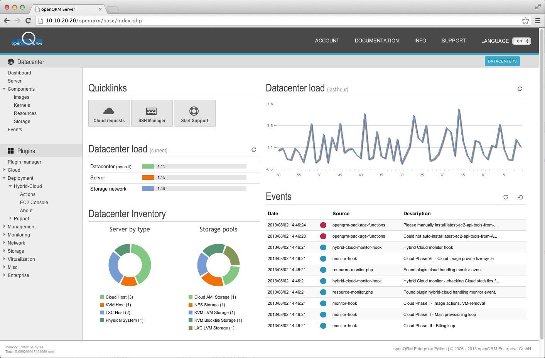 openQRM Cloud Computing Management Platform