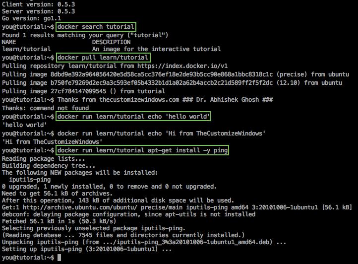 Docker, Cloud Computing and Server Virtualization