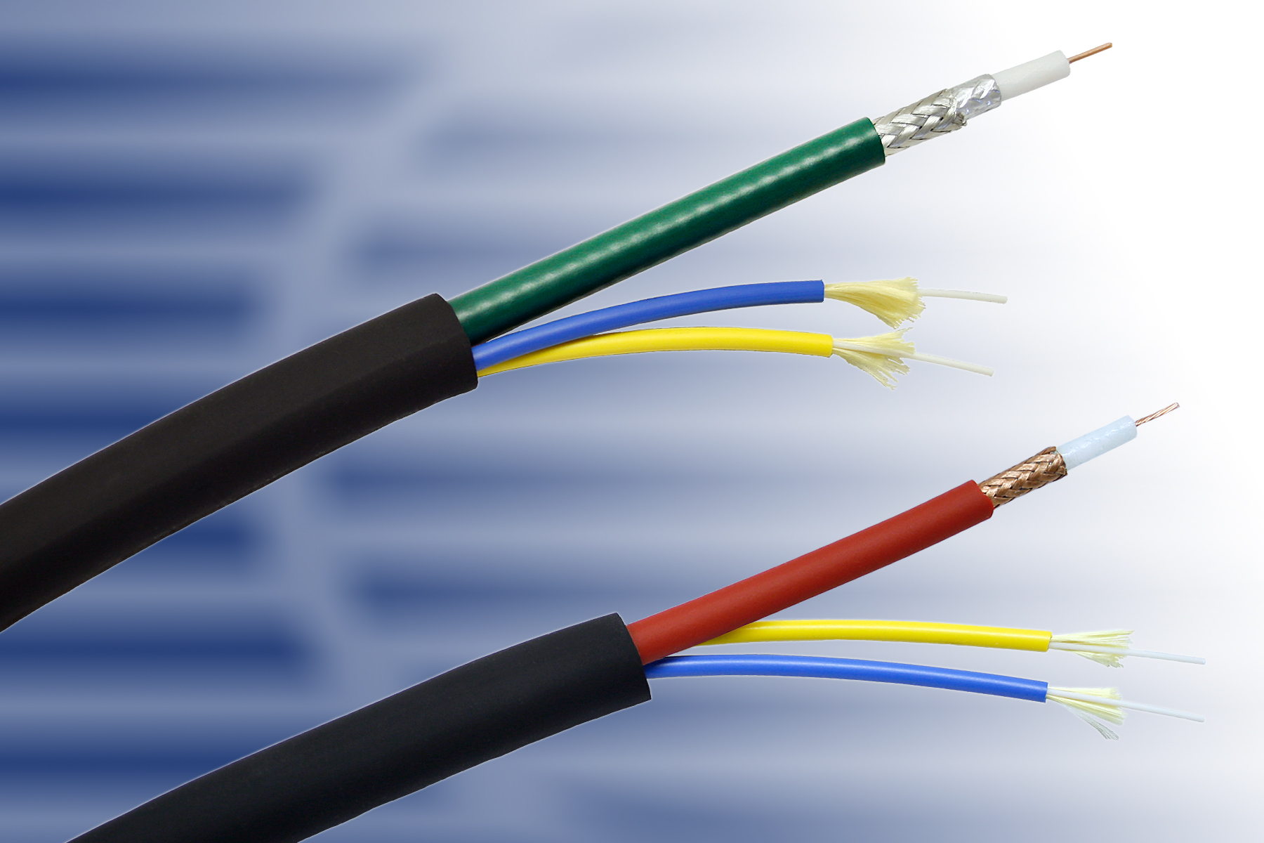 What is Hybrid fibre-coaxial