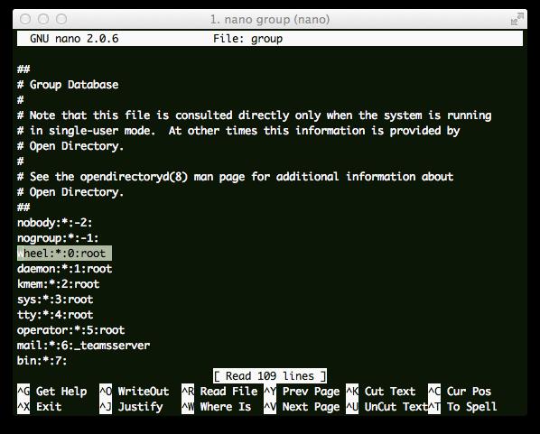Unix Group Command 11