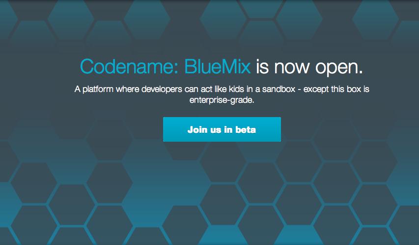 IBM Cloud PaaS BlueMix