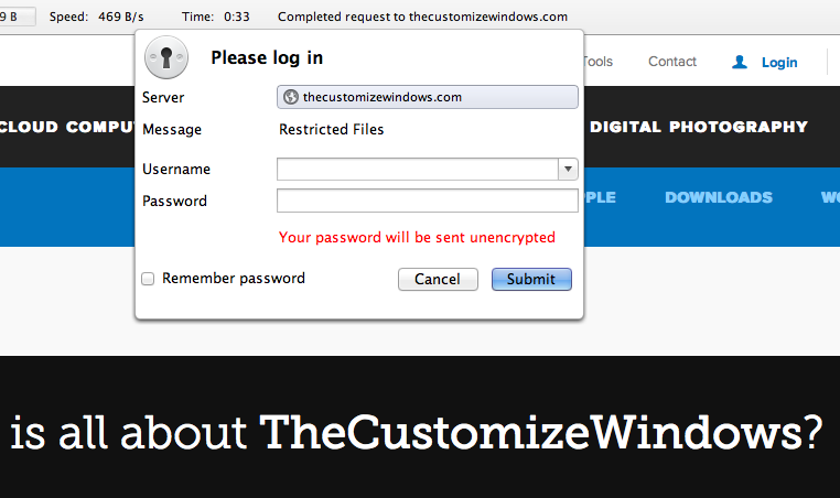 Create .htaccess Password for wp-login Page