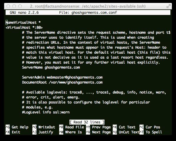 Fix Virtual Host Not Working on Cloud Server Running Ubuntu