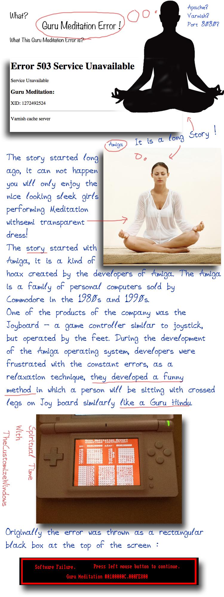 Guru-Meditation-Error