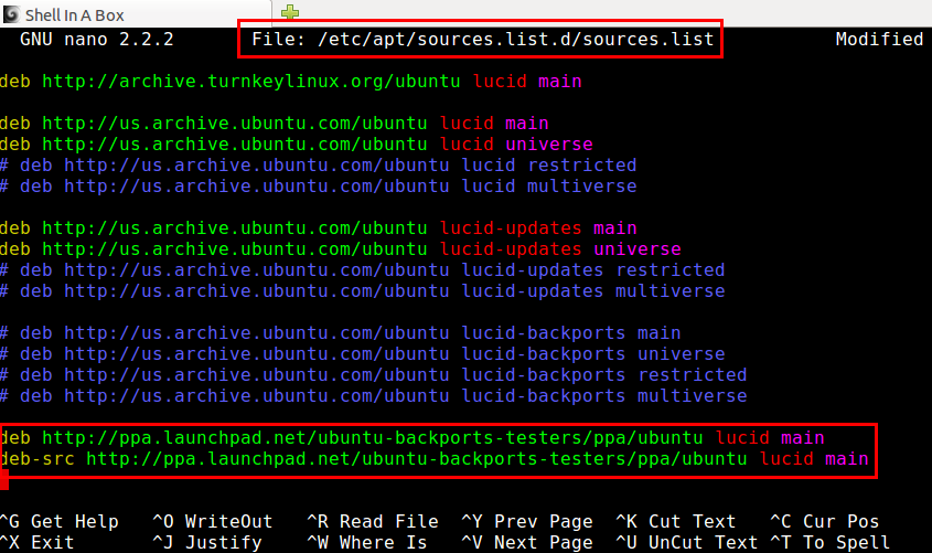 Append New Source to sources.list Without Opening the File