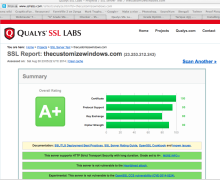 SSL Grade Optimization Tweak For Rackspace Cloud Server