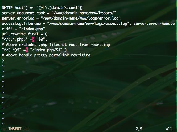 Installing-WordPress-on-Lighttpd-Web-Server