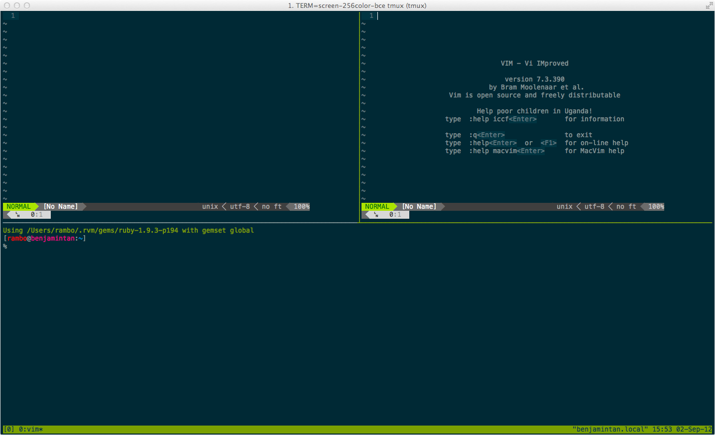 How to Use tmux on Mac