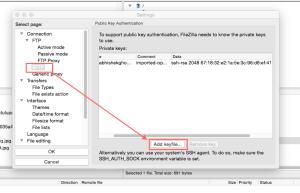 HP Cloud FTP:SFTP Setup