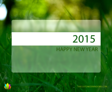 Happy New Year 2015 Episode From The Customize Windows!