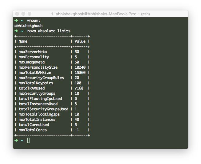 Important Python-Novaclient Commands HP Cloud OpenStack