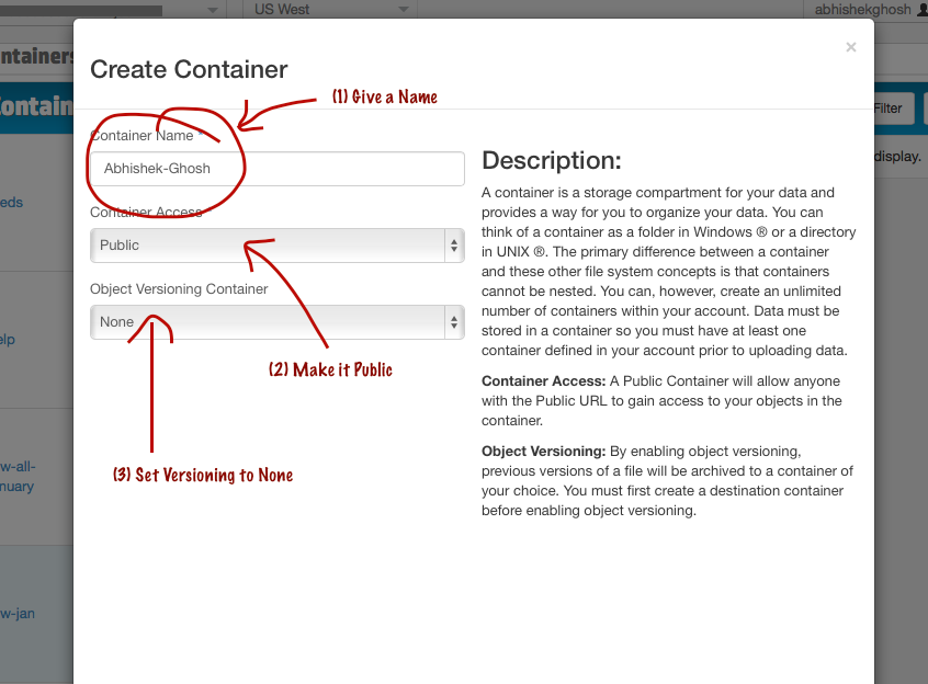 Create A Static Website On HP Cloud CDN
