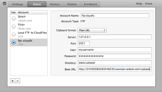 Access OpenStack Swift via FTP (HP Cloud)
